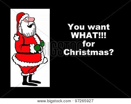 Big Request for Santa