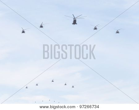 Helicopters, The Russian Air Force