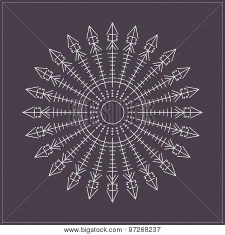 Geometric Linear Circule Logotypes649548