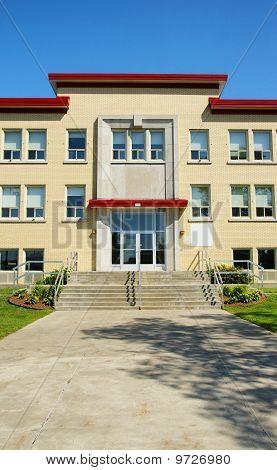 School Entrance Vertical