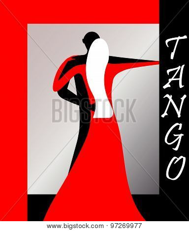 Tango. Vector Image. EPS 8.
