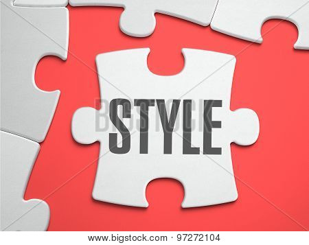 Style - Puzzle on the Place of Missing Pieces.