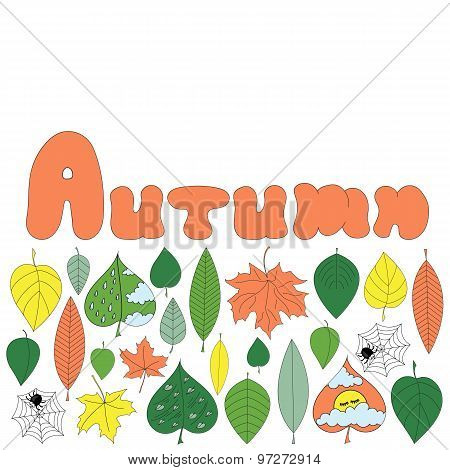 Autumn Card Template