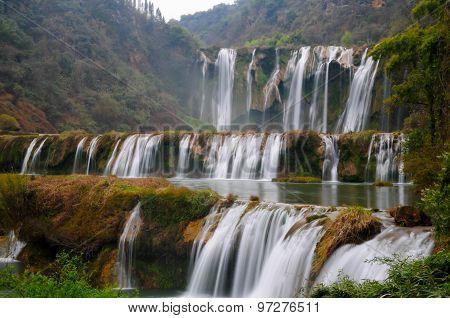 Jiulong waterfall in Luoping, Yunnan, China