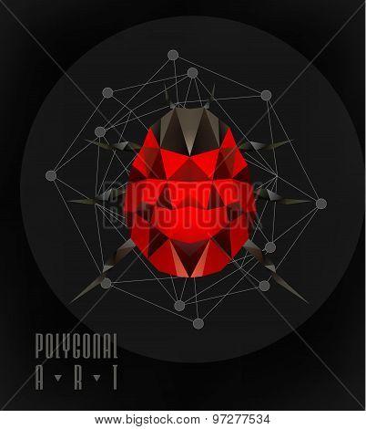 Ladybird polygonal