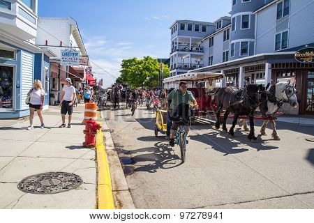 Summer On Mackinaw Island