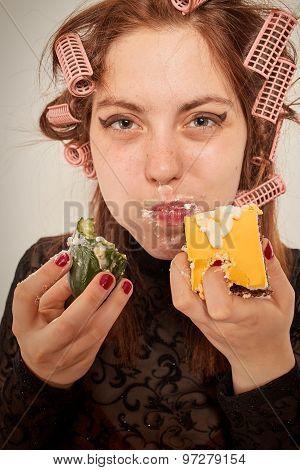 Gluttonous Woman
