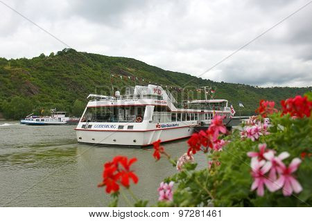 Touring On The Rhine River