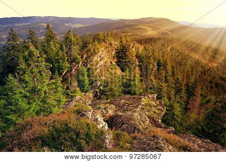 National park Sumava