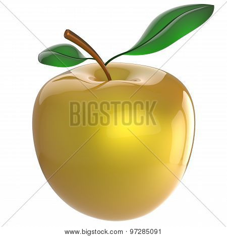 Apple Nutrition Fruit Yellow Antioxidant Fresh Ripe Exotic Food