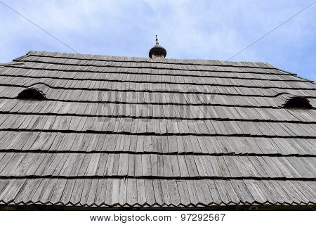 Roof Of The Rural House