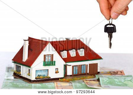 House And Key And Money