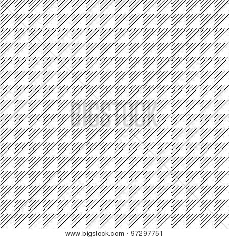 Seamless pattern with hatched triangles