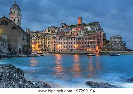 Vernazza on the Cinque Terre