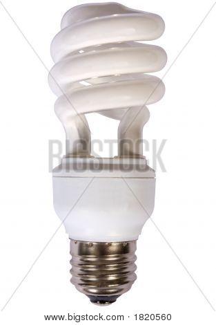 Bombilla de luz fluorescente