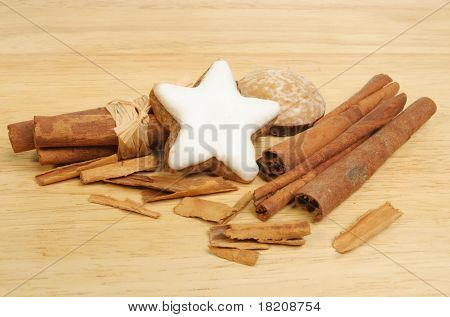 Cinnamon And Lebkuchen Biscuits