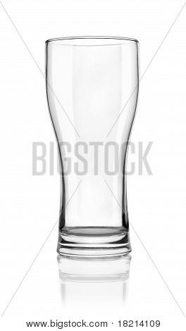 Vidrio de cerveza vacías