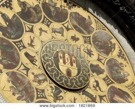 Calendar Of Prague Astronomical Clock