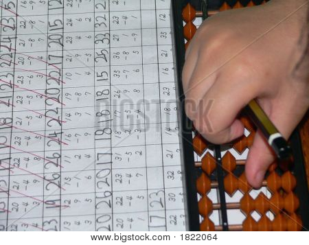 Calculate With Abacus