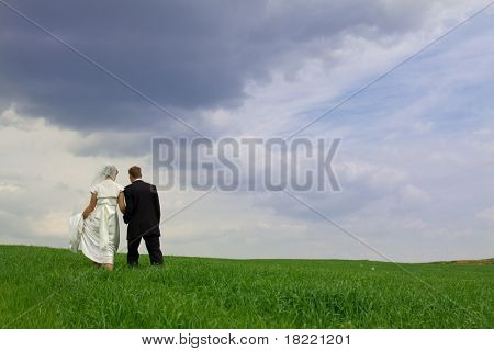 Kissing wedding