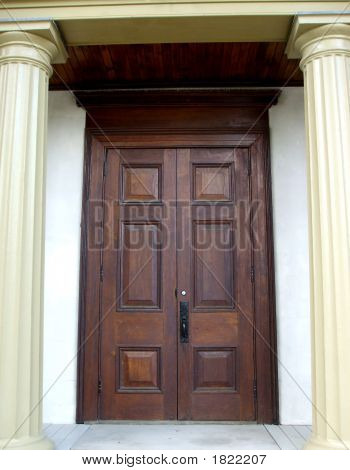 Large Castle Doors