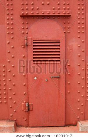 Door on golden gate