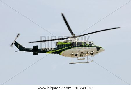 Miami Dade County Fire Rescue Helicopter