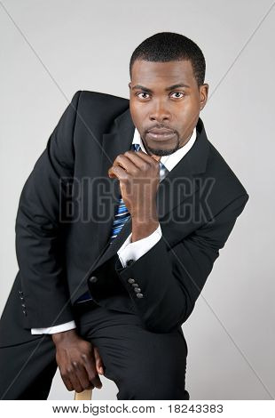 Portrait Of A Young Business Man