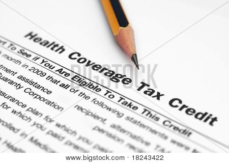 Health coverage tax credits