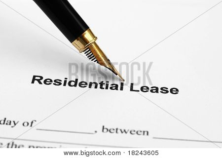 Residental lease