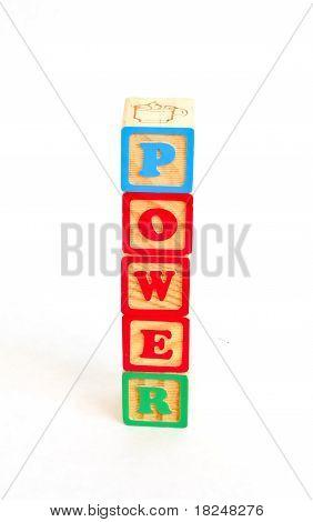 Alphabet Block Power
