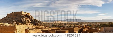 City Of Ghat, Akakus (acacus) Mountains, Sahara, Libya