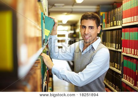 Student In Archive