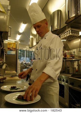 Chef Working