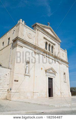 Basilica della Madonna dei Martiri. Molfetta. Apulia.