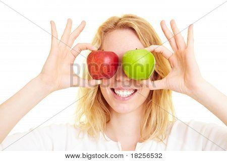 Apples As Eyes