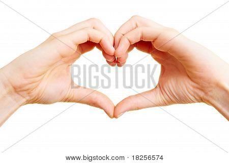 Finger As A Heart