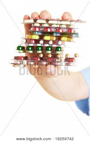Stack Of Pills