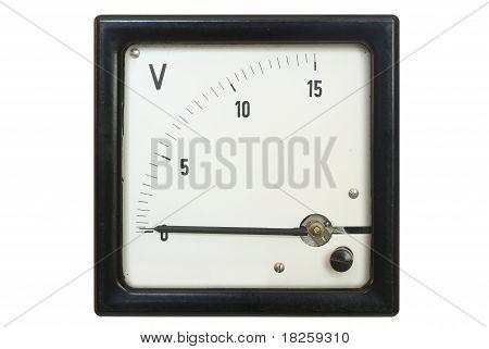 Old Voltmeter
