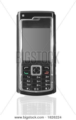 Moderno teléfono celular