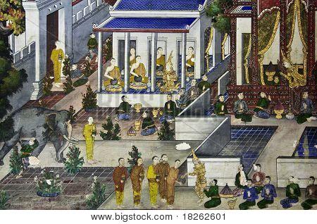 die Legende von der Buddha-Statue.