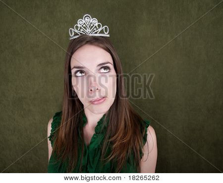 Young Woman With Tiara