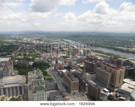 Aerial View Of Albany