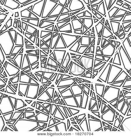 Seamless Web Pattern