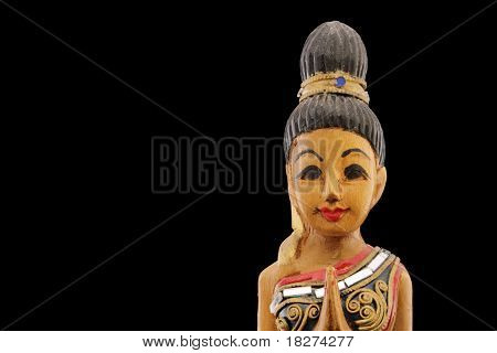 Thailand Prayer Doll