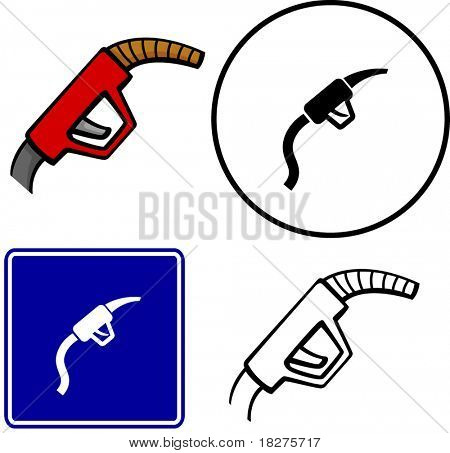gas bomba Manguera ilustración signo y símbolo