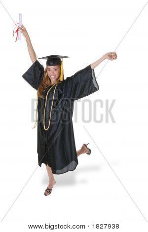 Gorgeous Graduation Woman
