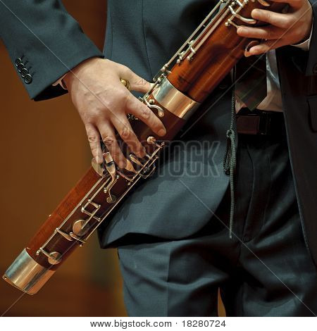 bassoonist on chamber music