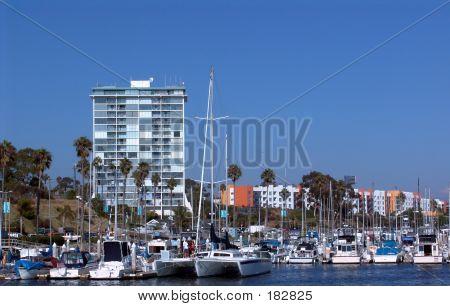 Oceanside Harbor Boats