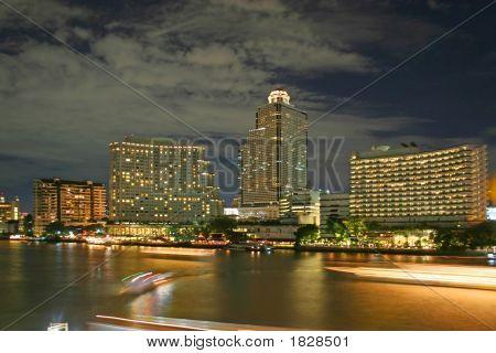 Bangkok At Nght